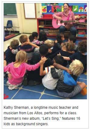 Kathy Sherman, musician, singer, teacher